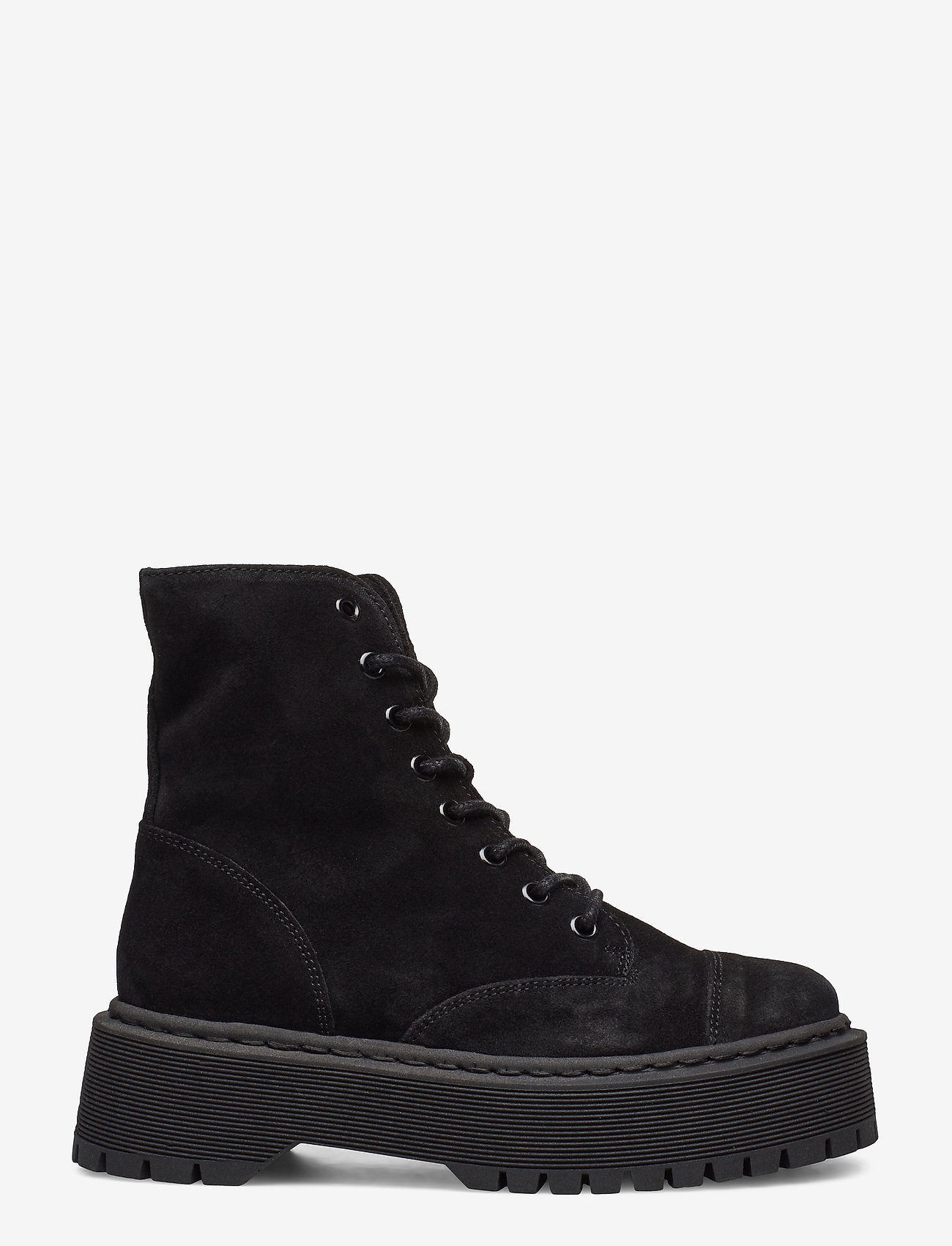 Vero Moda - VMPATH LEATHER BOOT - niski obcas - black - 1