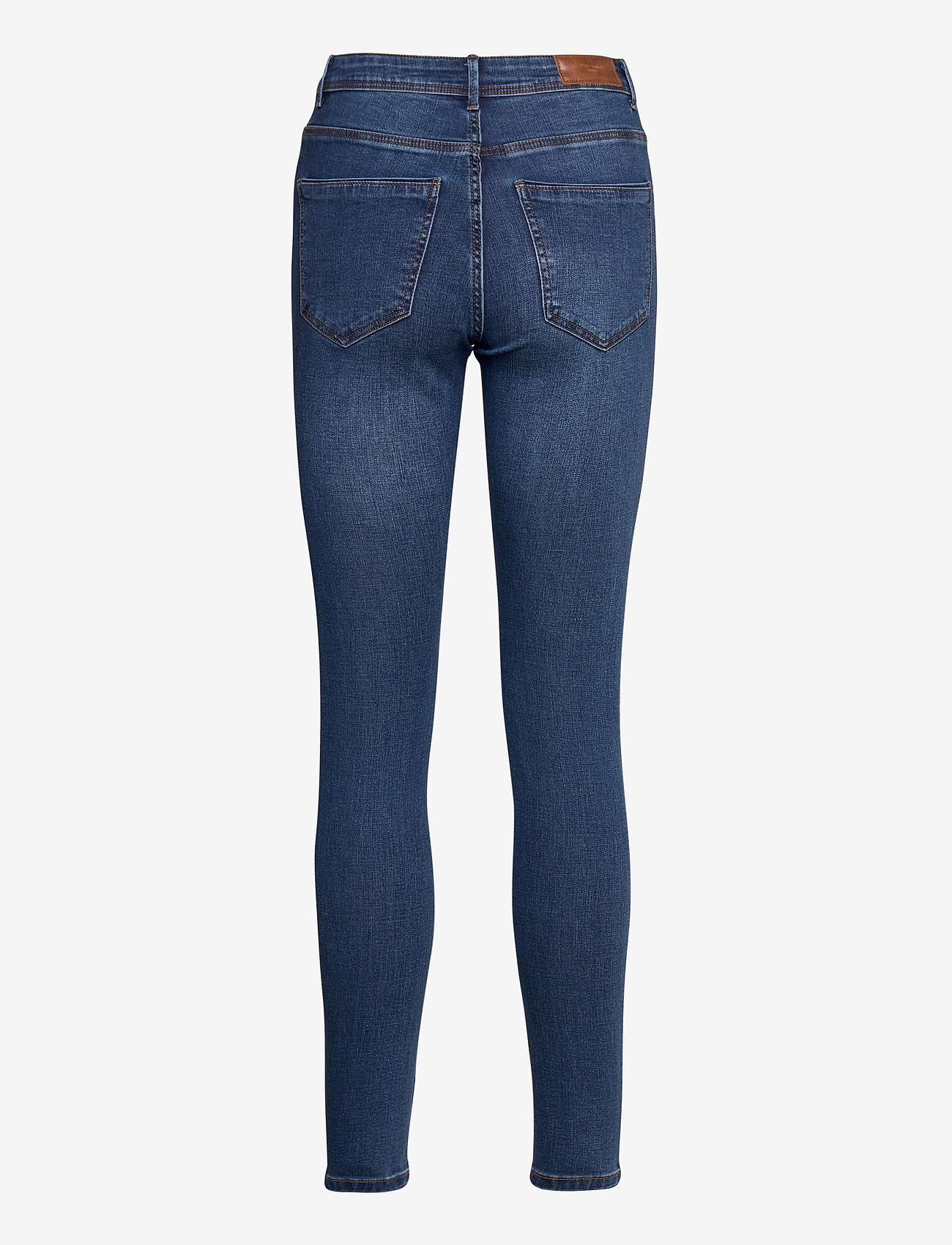 Vero Moda - VMTANYA MR S PIPING JEANS VI369 - slim jeans - dark blue denim - 1