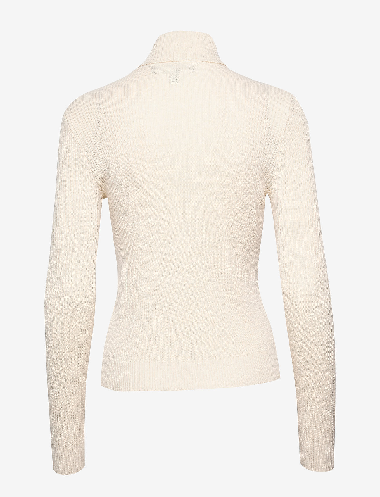 Vero Moda - VMCUTIE LS HIGHNECK BLOUSE - turtlenecks - birch - 1