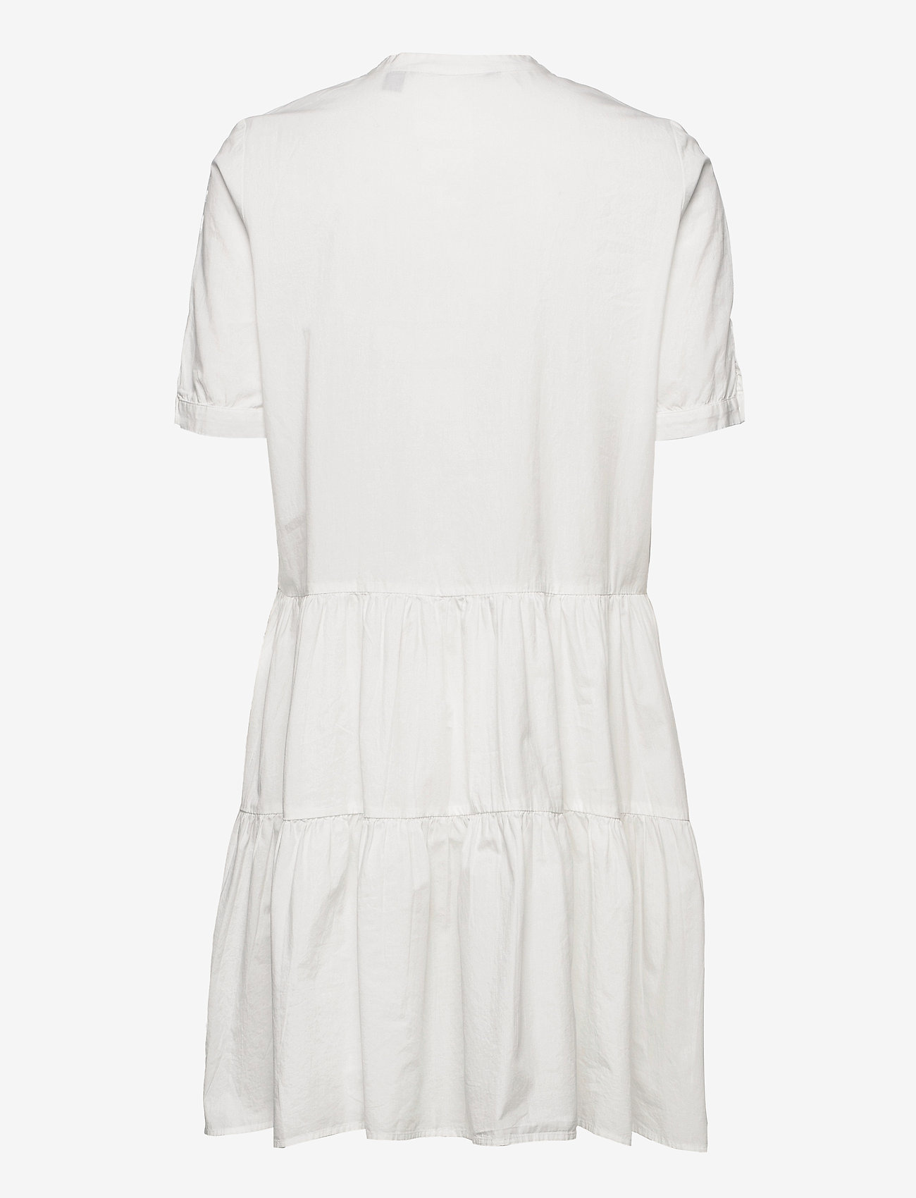 Vero Moda - VMDELTA 2/4 ABK DRESS WVN DA GA KI COLOR - sommarklänningar - snow white - 1