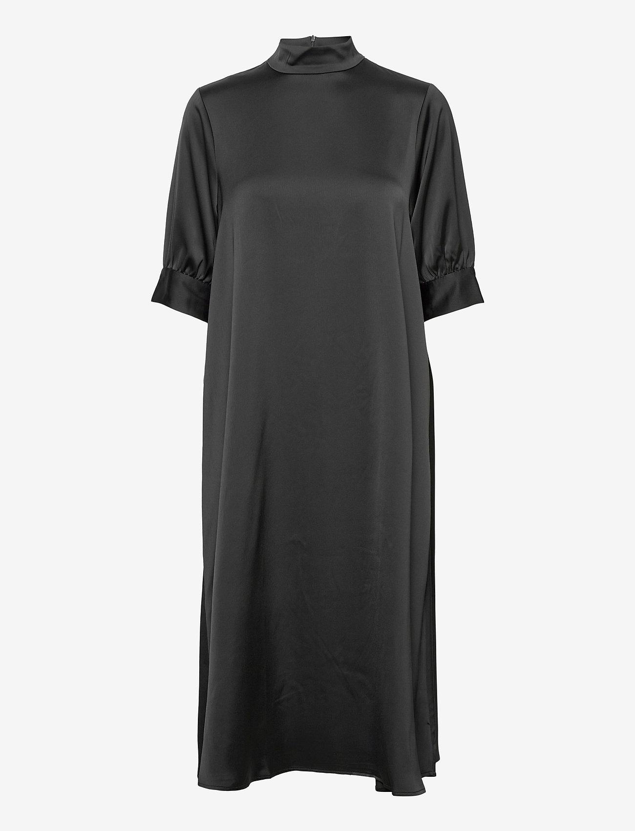 Vero Moda - VMMARLIN 2/4 CALF DRESS VMA - vardagsklänningar - black - 0