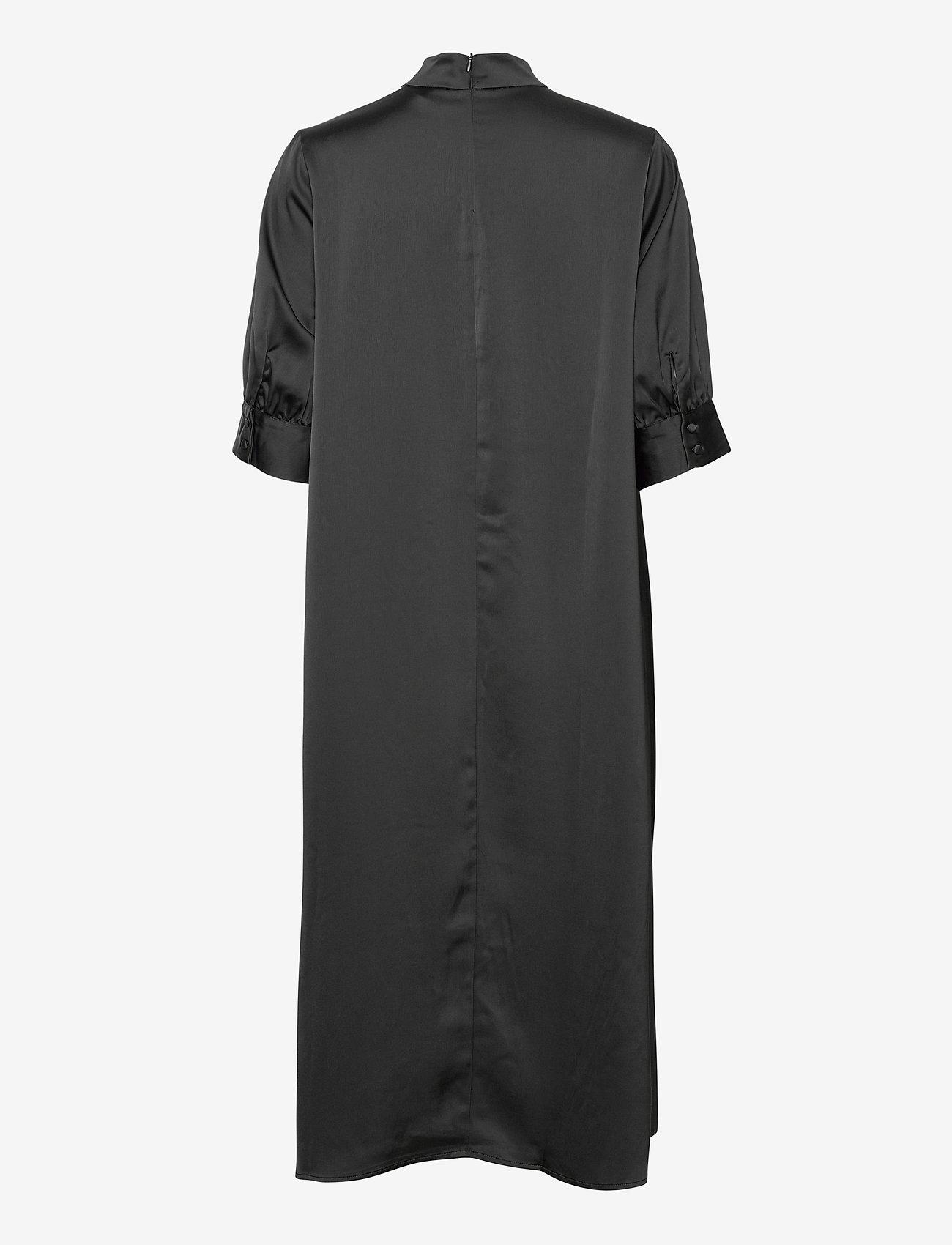 Vero Moda - VMMARLIN 2/4 CALF DRESS VMA - vardagsklänningar - black - 1