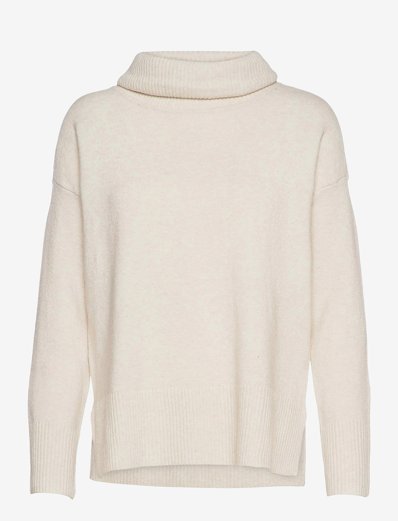 Vero Moda - VMDOFFY LS COWLNECK BLOUSE GA COLOR - tröjor - birch - 0