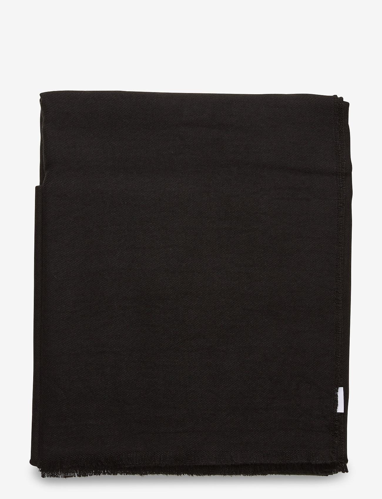 Vero Moda - VMKATE LONG SCARF NOOS - tørklæder - black - 1