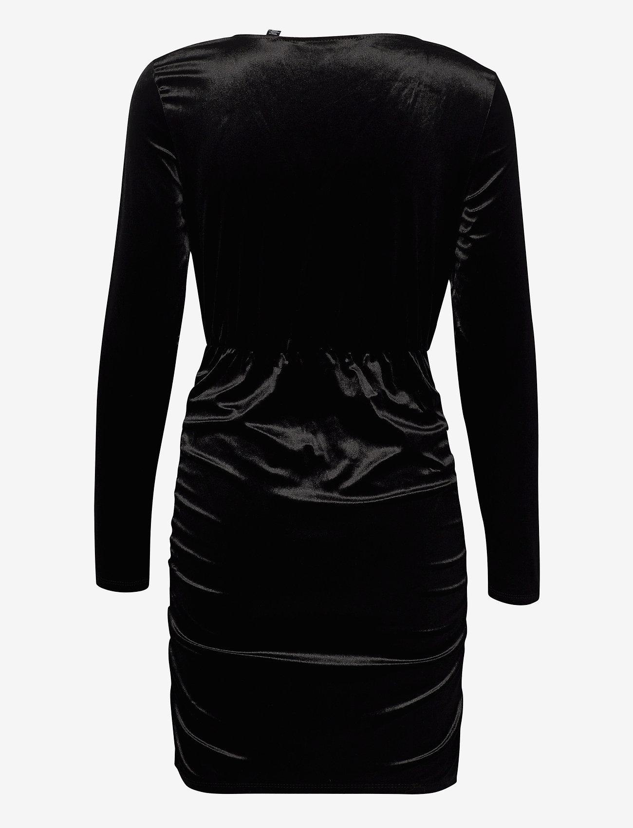 Vero Moda - VMKAITI LS DRESS JRS - fodralklänningar - black - 1