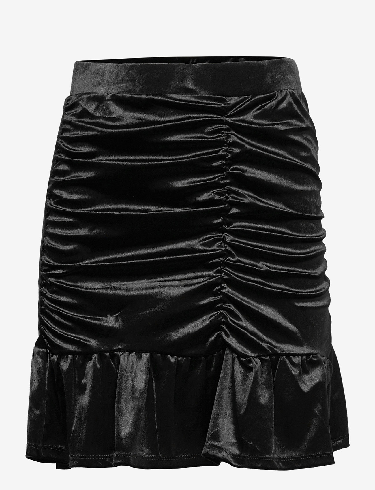Vero Moda - VMKAITI HW SHORT SKIRT JRS - korta kjolar - black - 0