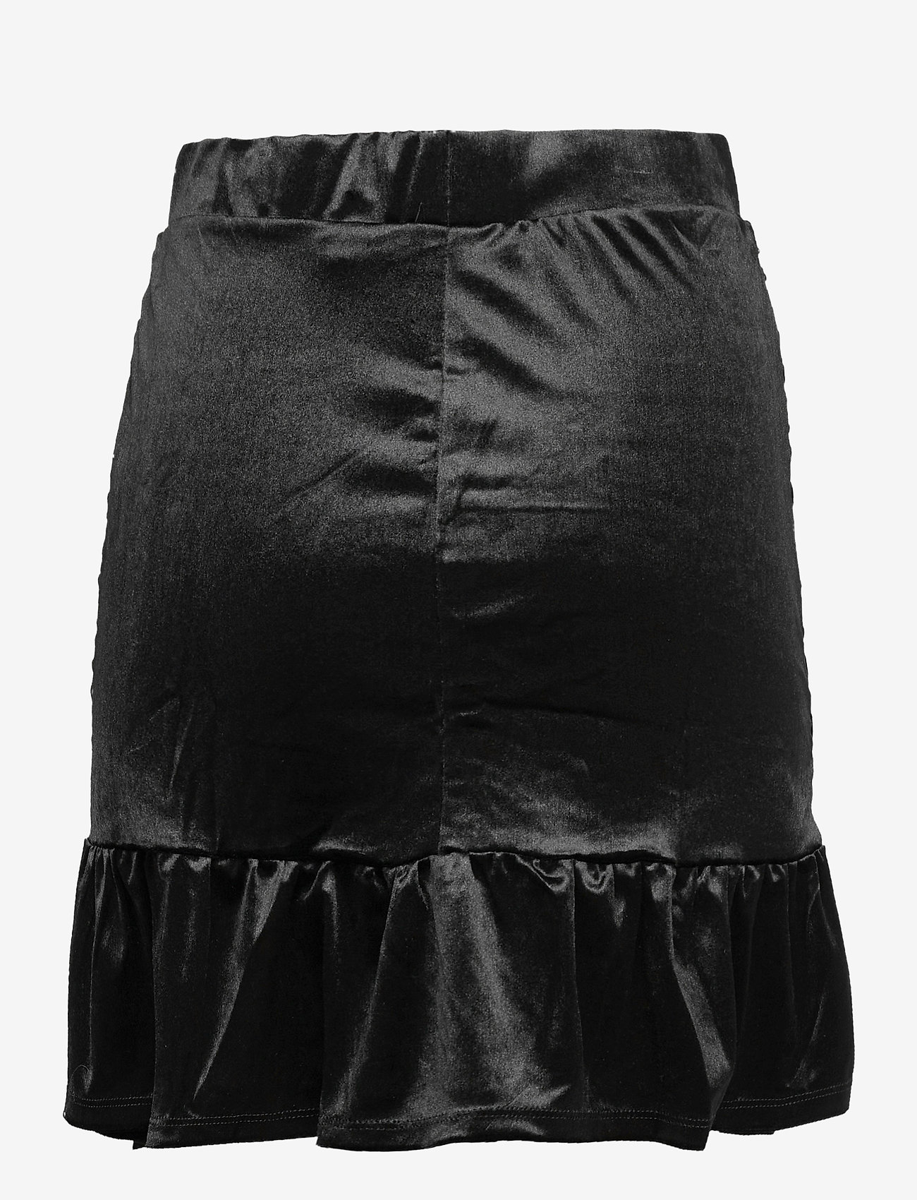 Vero Moda - VMKAITI HW SHORT SKIRT JRS - korta kjolar - black - 1