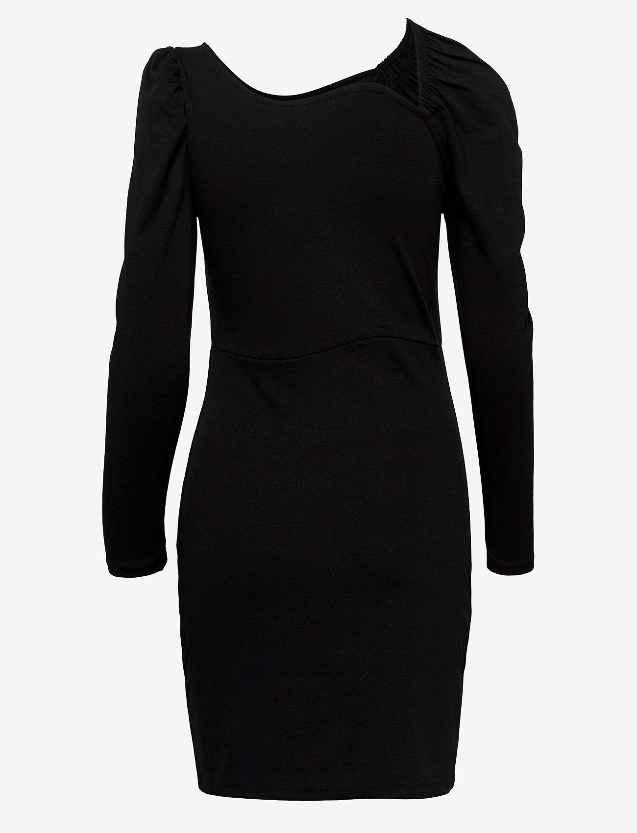 Vero Moda - VMJOSELYN LS SHORT DRESS SE LCS JRS - fodralklänningar - black - 1