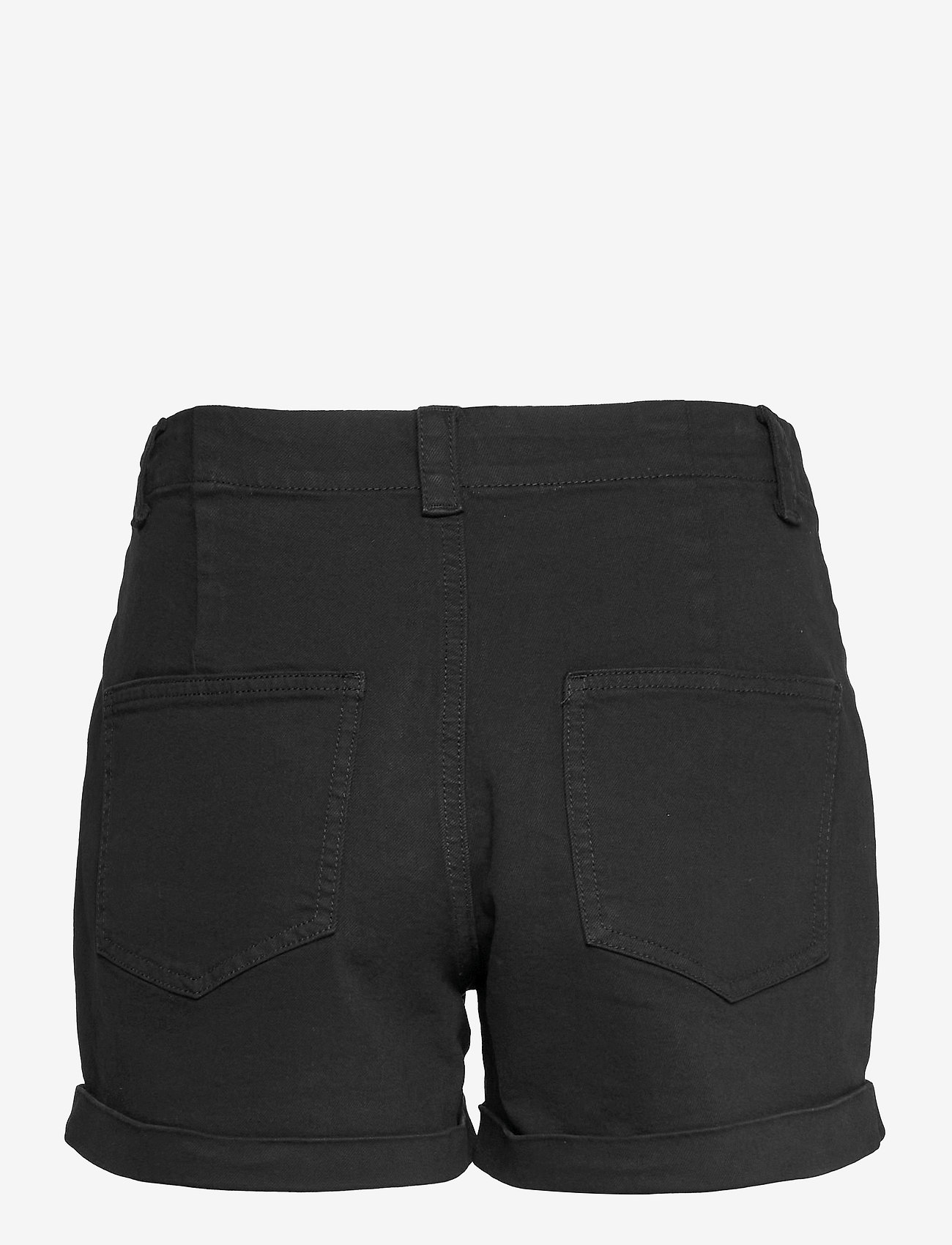 Vero Moda - VMBARB MR UTILITY SHORTS GA COLOR - jeansshorts - black - 1