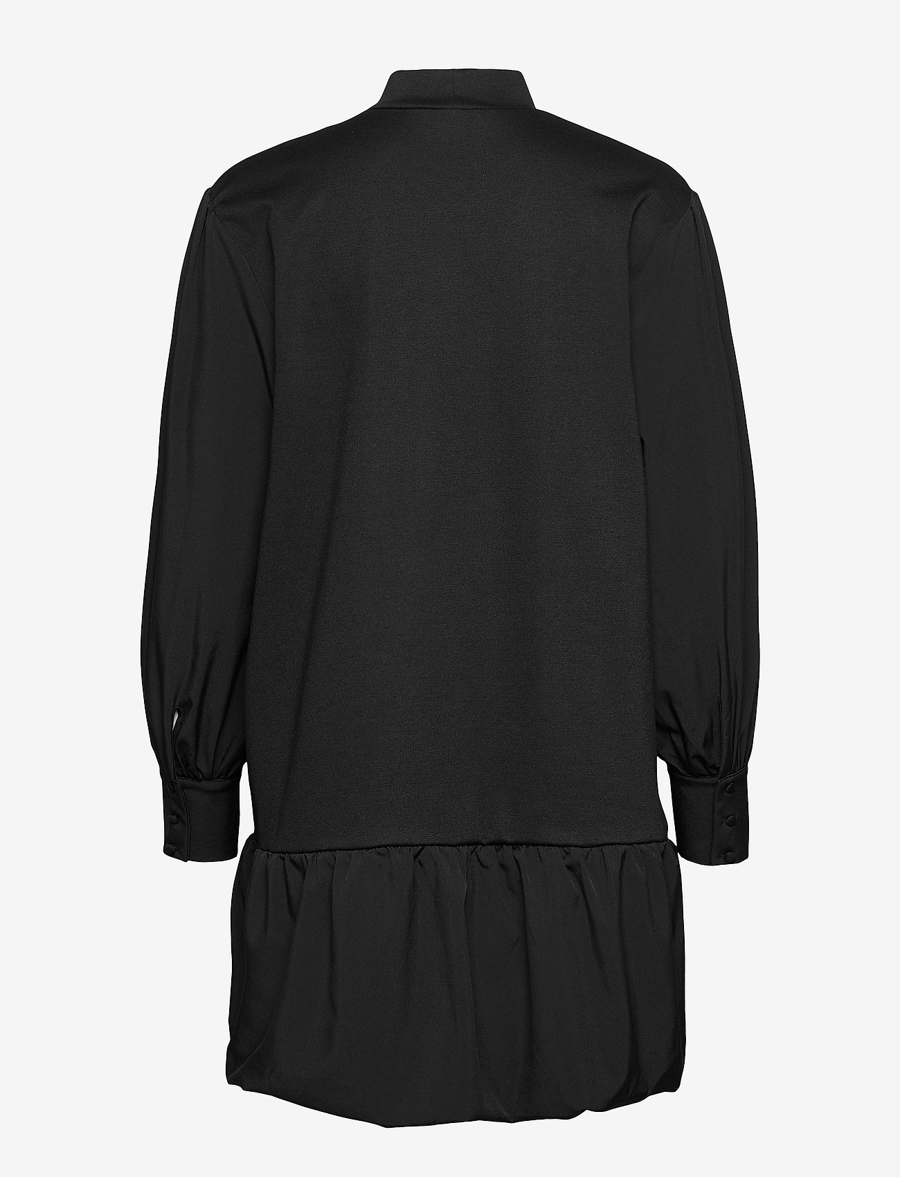 Vero Moda - VMBELLE LS SHORT SWEAT DRESS JRS GA - vardagsklänningar - black - 1