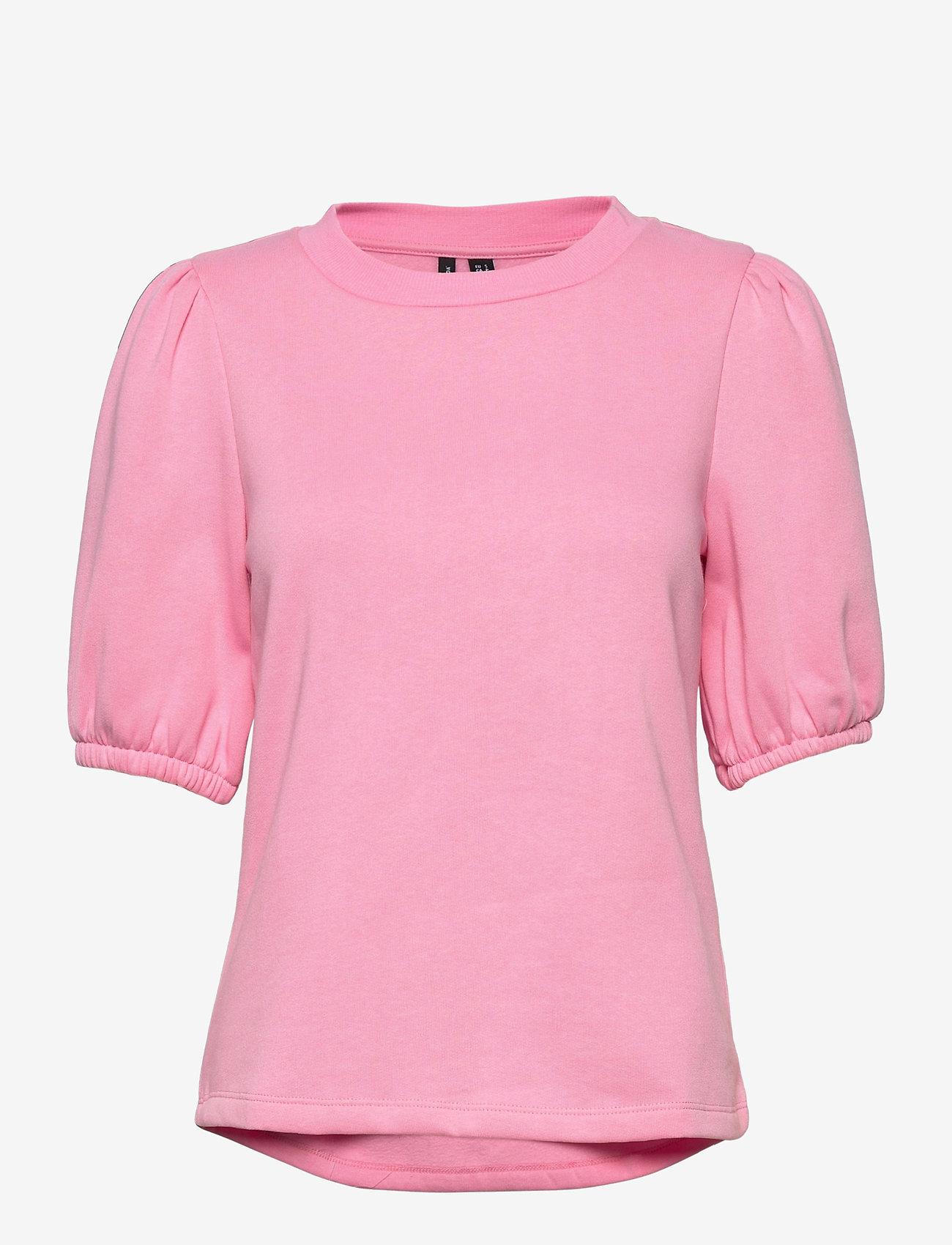 Vero Moda - VMDAISY S/S SWEAT EXP - långärmade blusar - prism pink - 0
