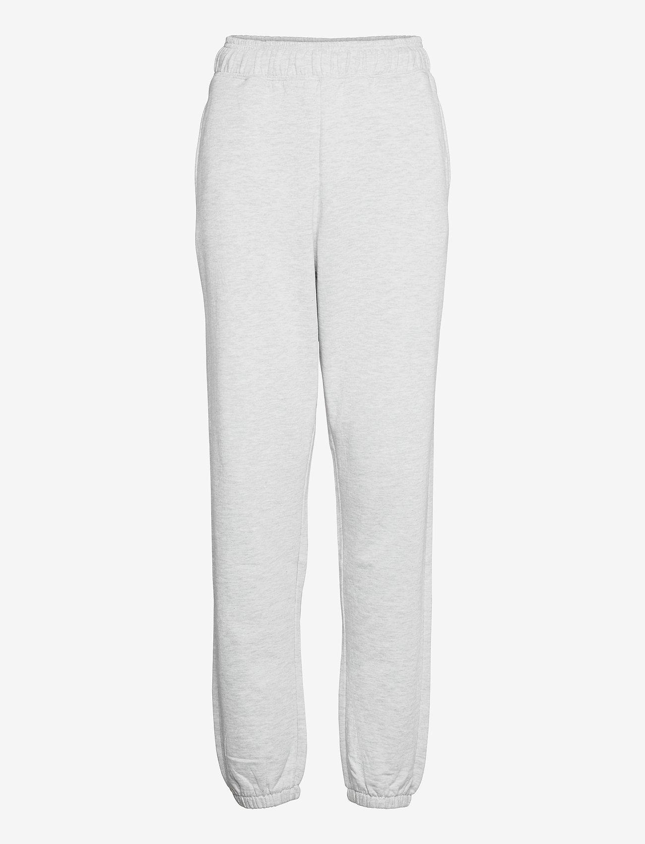 Vero Moda - VMODEZ HW SWEAT PANTS VMA - kläder - light grey melange - 0