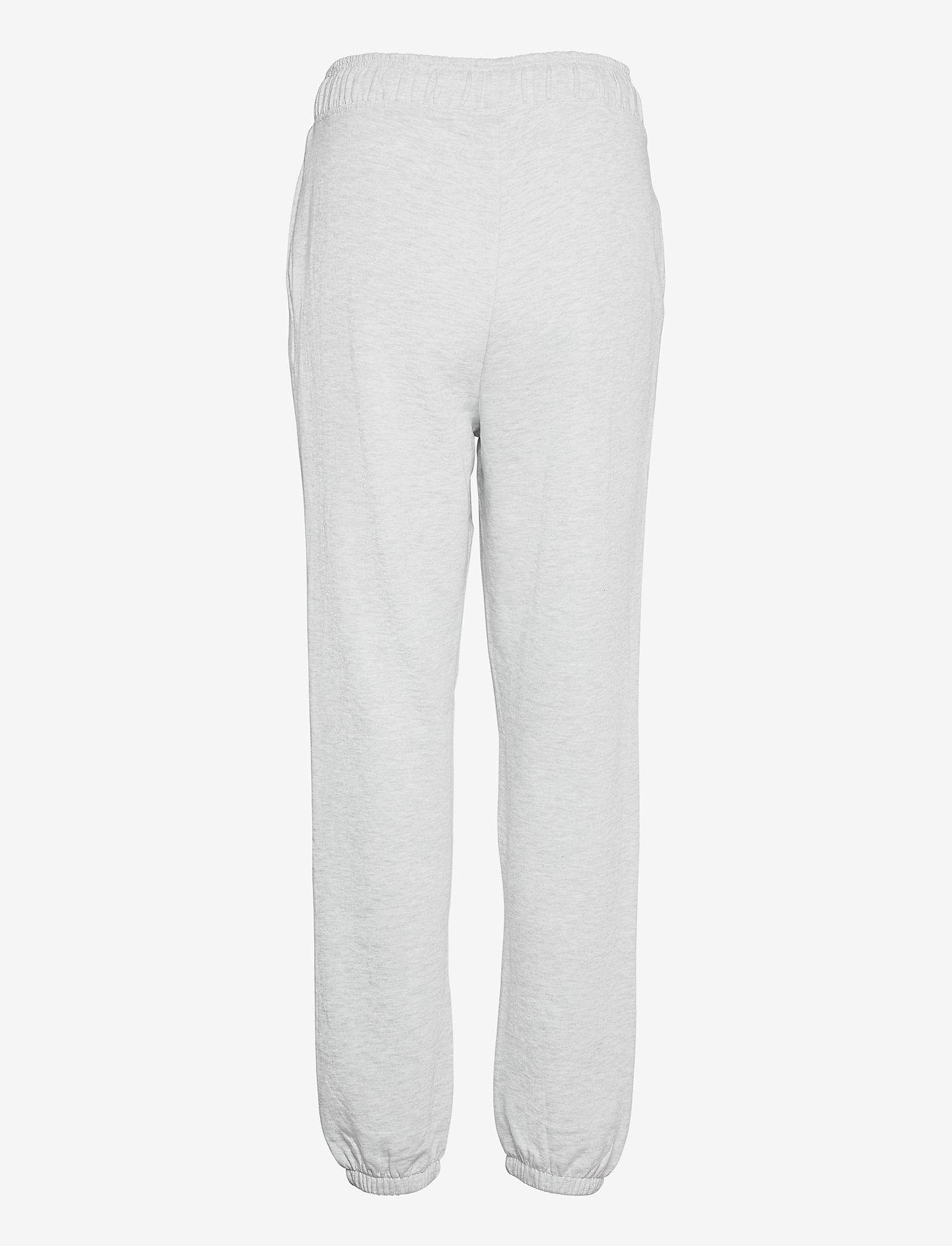 Vero Moda - VMODEZ HW SWEAT PANTS VMA - kläder - light grey melange - 1