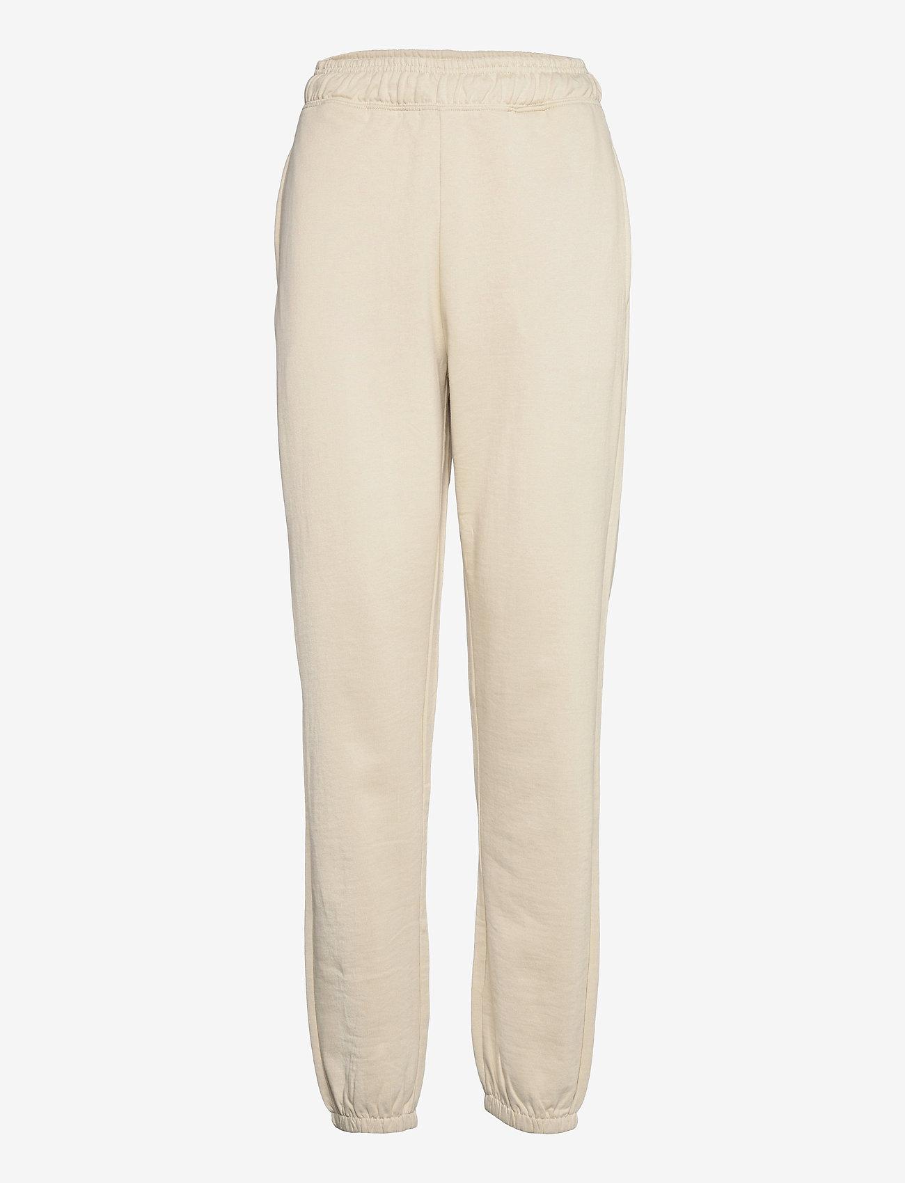 Vero Moda - VMODEZ HW SWEAT PANTS VMA - kläder - oatmeal - 0