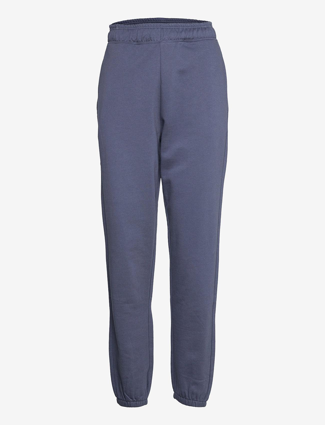 Vero Moda - VMODEZ HW SWEAT PANTS VMA - kläder - vintage indigo - 0