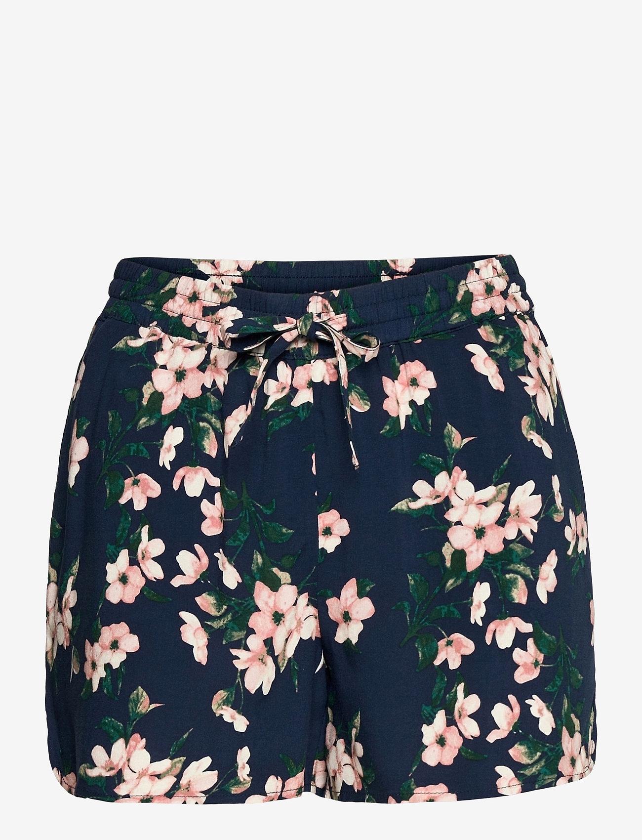 Vero Moda - VMSIMPLY EASY NW SHORTS WVN  GA - casual shorts - navy blazer - 0