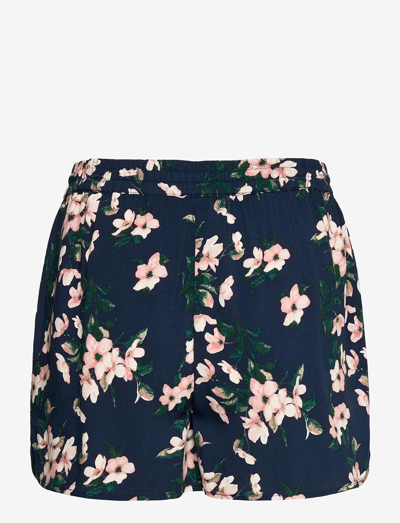 Vero Moda - VMSIMPLY EASY NW SHORTS WVN  GA - casual shorts - navy blazer - 1