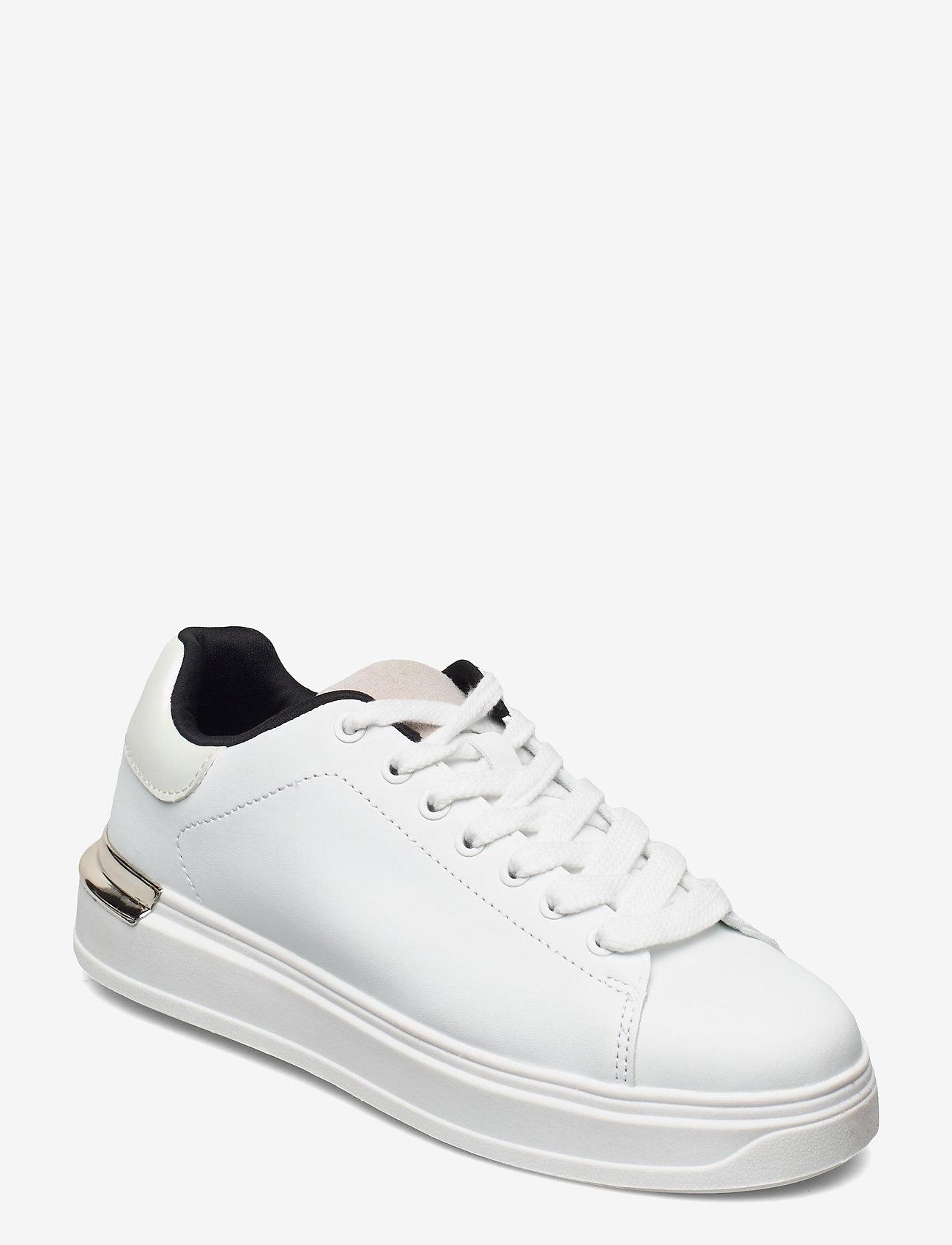 Vero Moda - VMMILANO SNEAKER - låga sneakers - snow white - 0