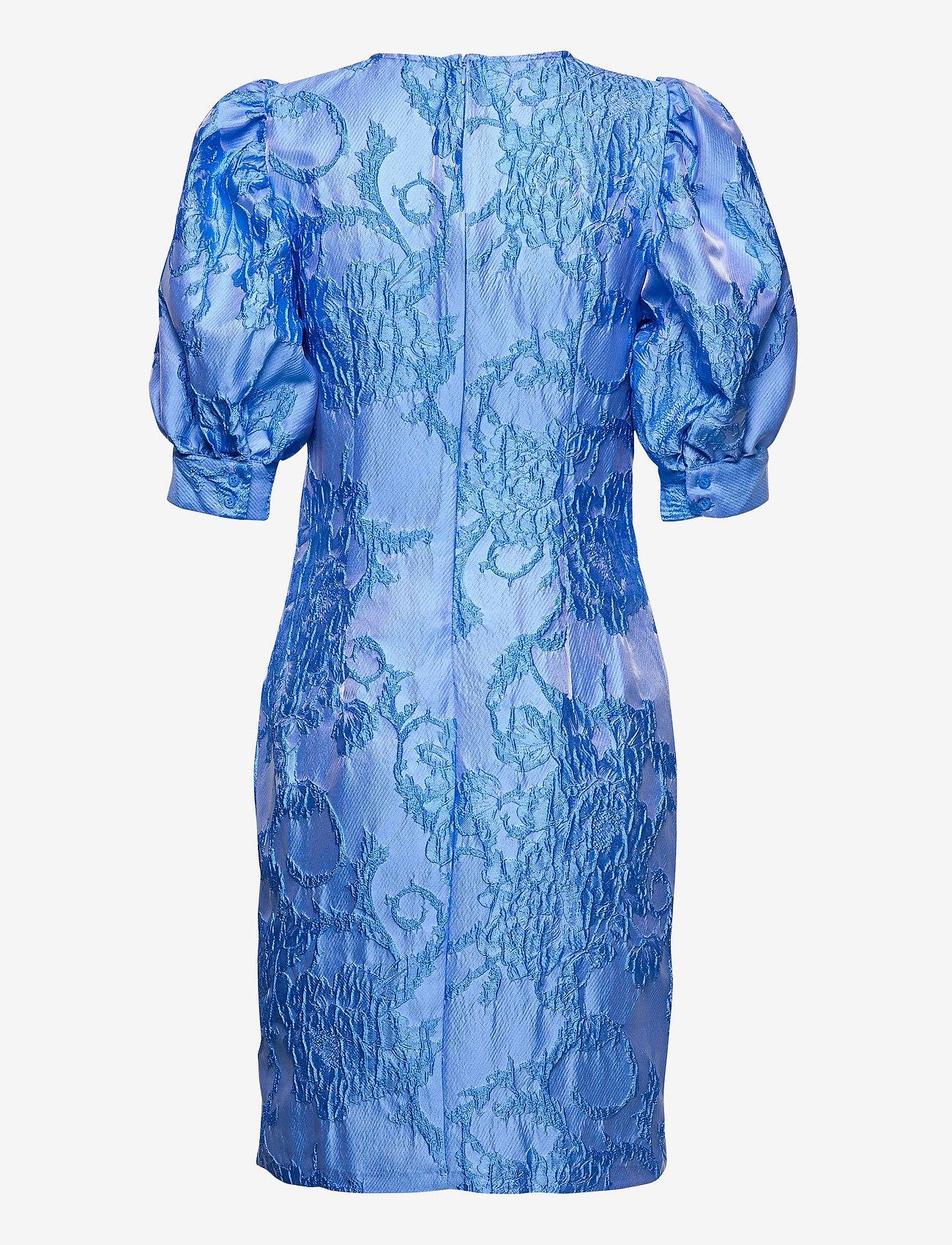 Vero Moda - VMSTELLA 2/4 SHORT DRESS SB2 - fodralklänningar - hydrangea - 1