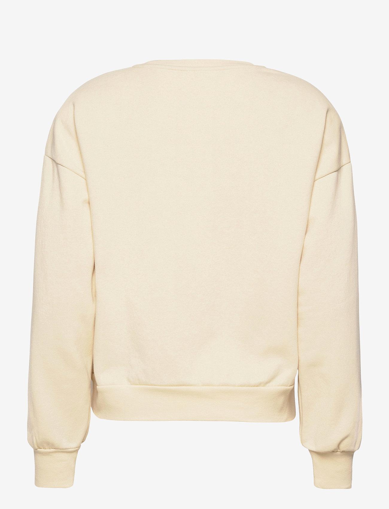 Vero Moda - VMDAISY L/S MUSCLE SWEAT EXP - sweatshirts - creme brle - 1