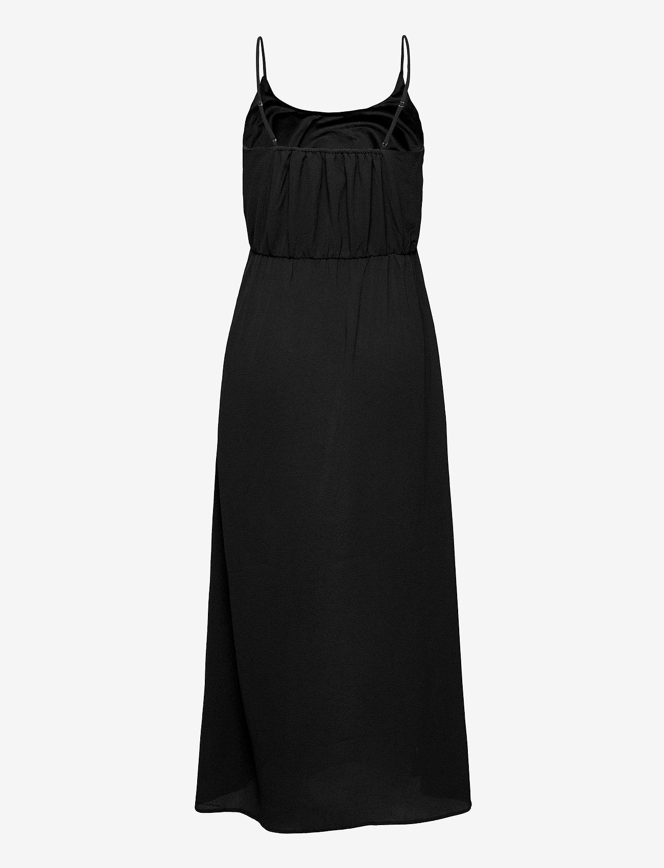 Vero Moda - VMSASHA MAXI DRESS GA - sommarklänningar - black - 1