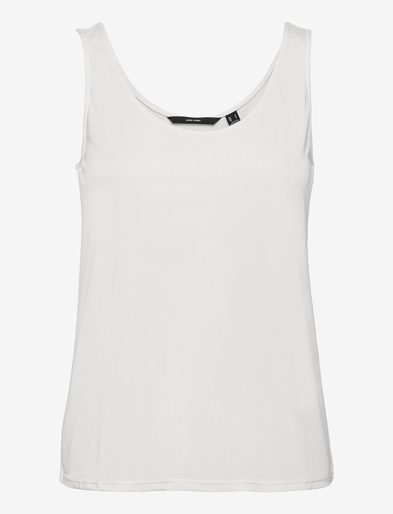 Vero Moda - VMFILLI CALIA TANK TOP GA - t-shirts - snow white - 0