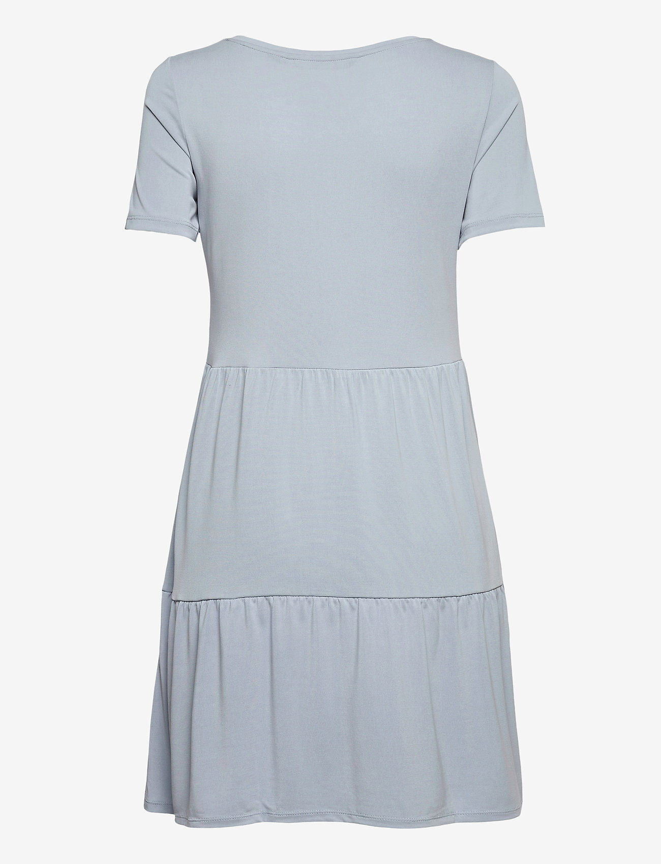Vero Moda - VMFILLI CALIA SS SHORT DRESS GA - sommarklänningar - blue fog - 1