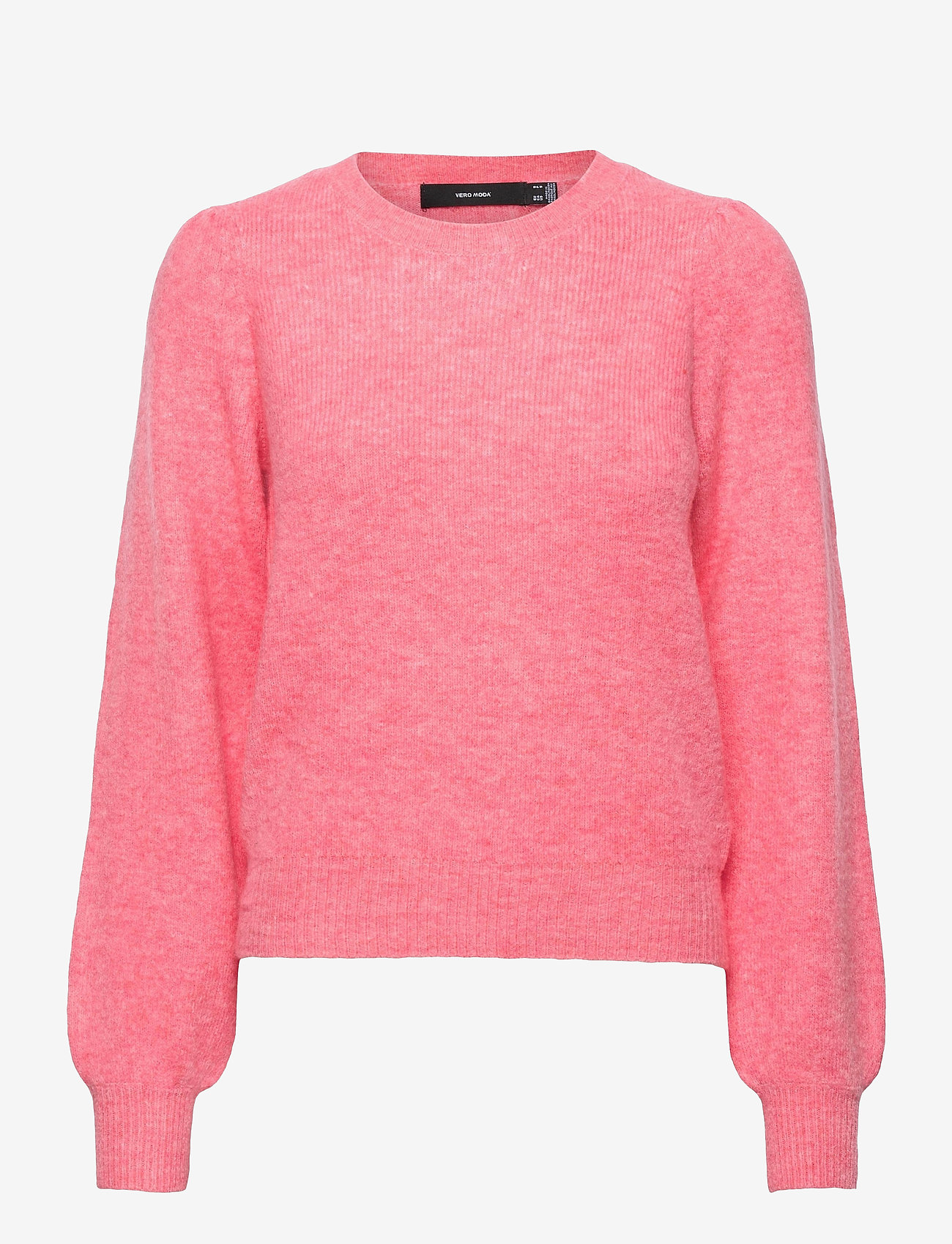 Vero Moda - VMLEFILE PUFF LS BLOUSE REP - tröjor - geranium pink - 0