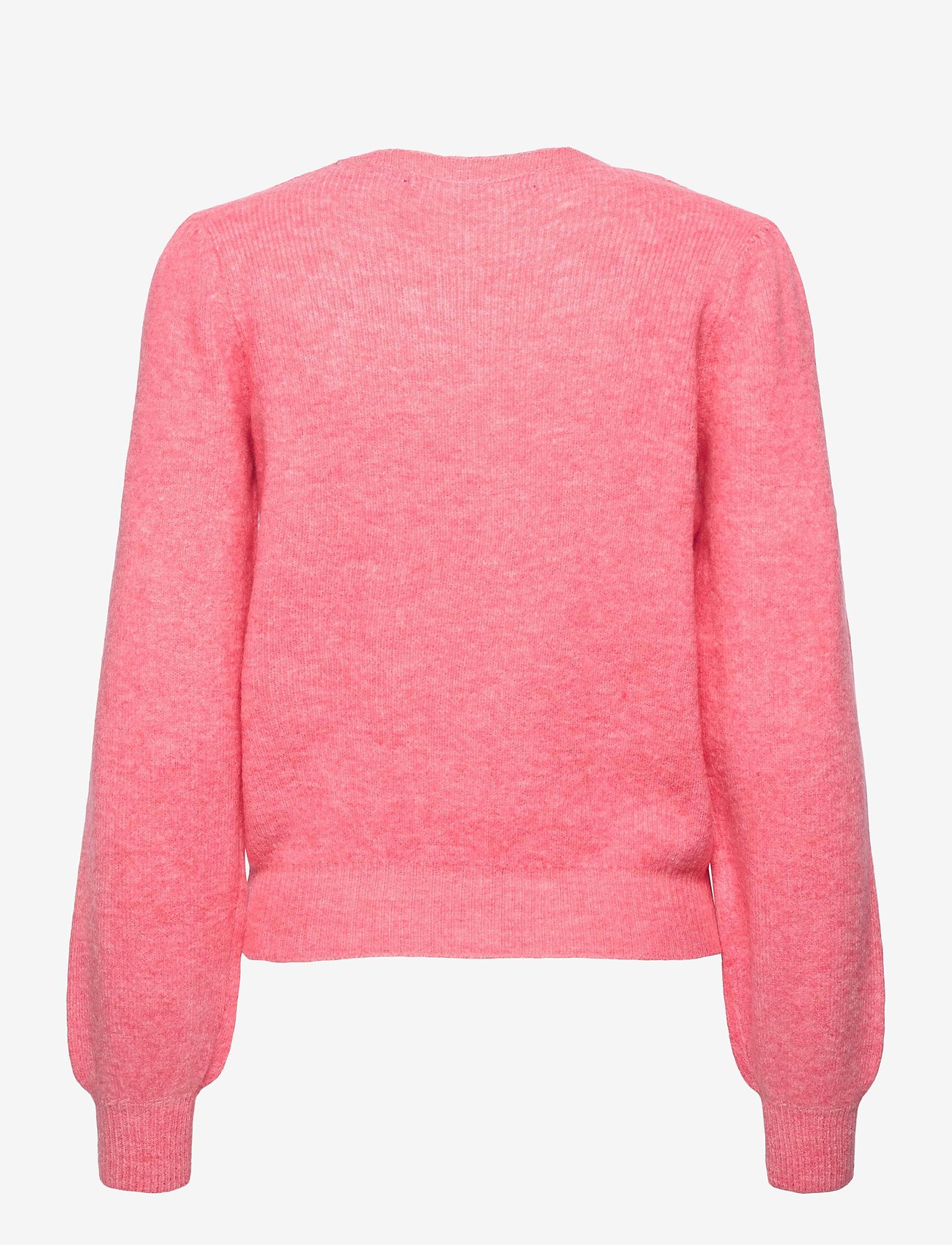 Vero Moda - VMLEFILE PUFF LS BLOUSE REP - tröjor - geranium pink - 1