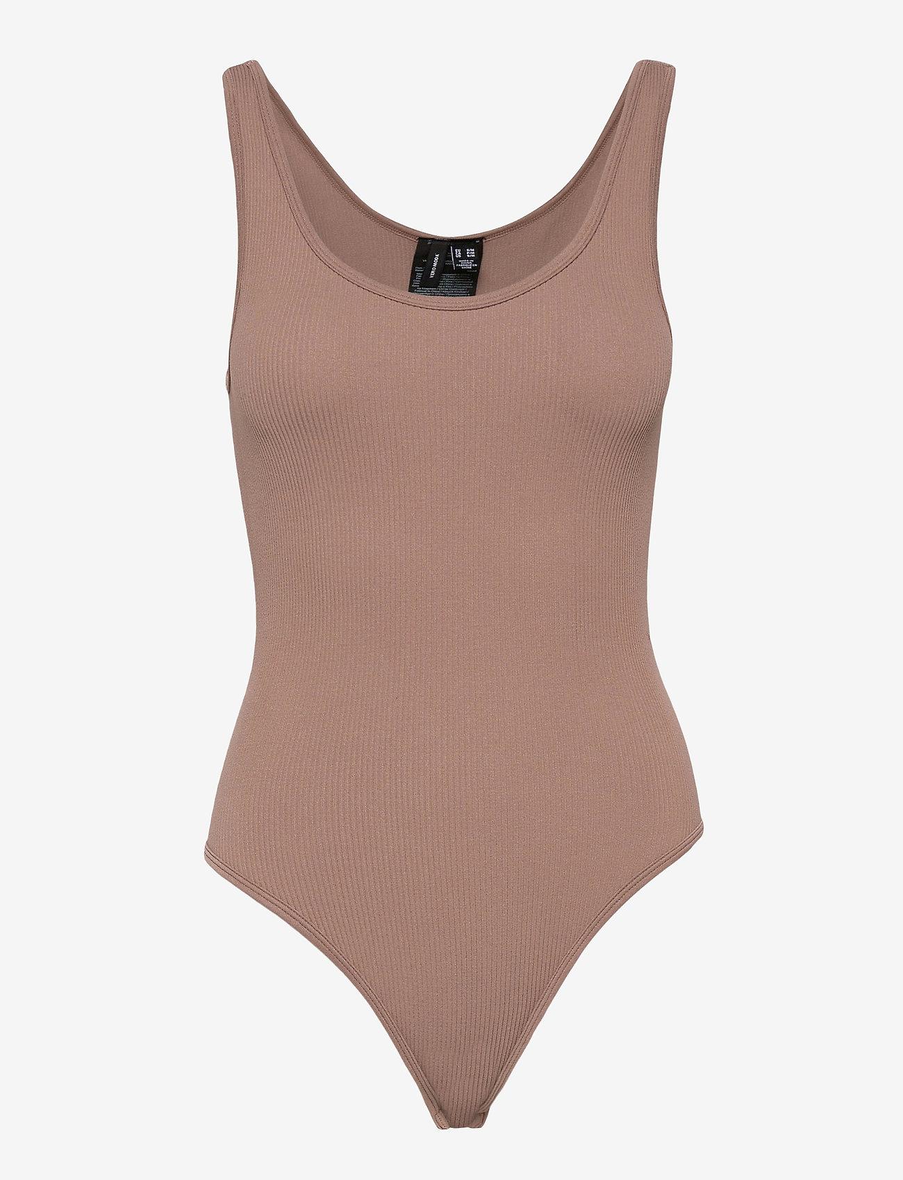 Vero Moda - VMEVE BODYSTOCKING - bodies - brownie - 0