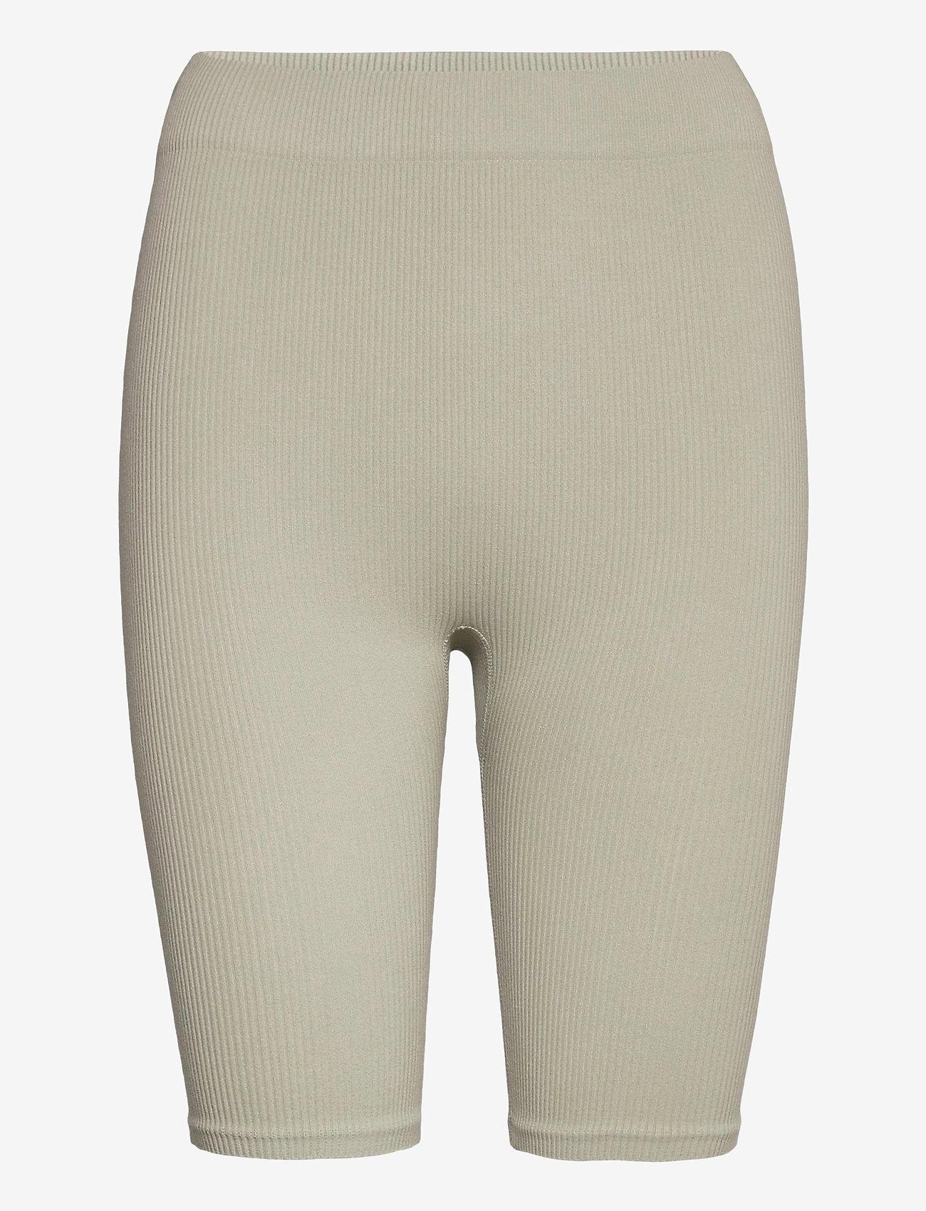 Vero Moda - VMEVE SHORTS - cycling shorts - mineral gray - 0