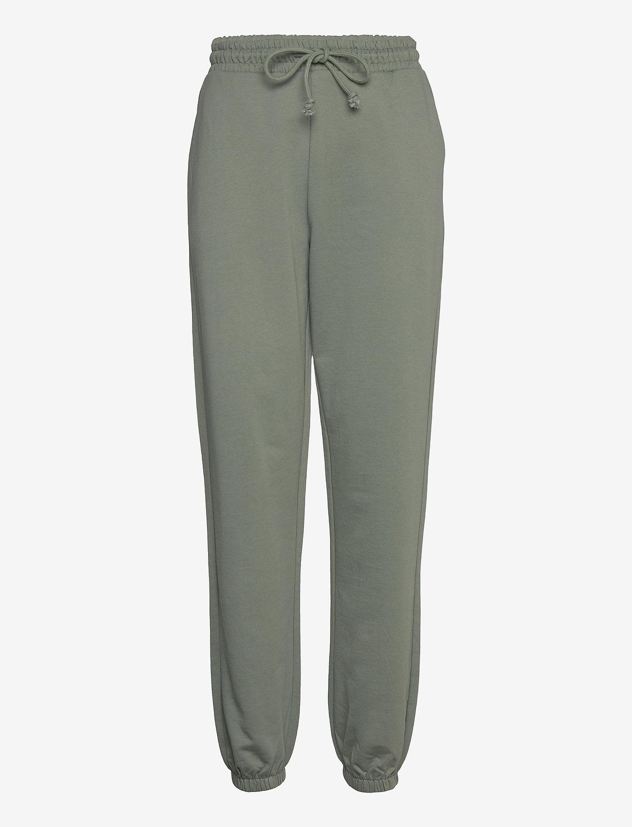 Vero Moda - VMOCTAVIA HW SWEAT PANT GA - kläder - laurel wreath - 0