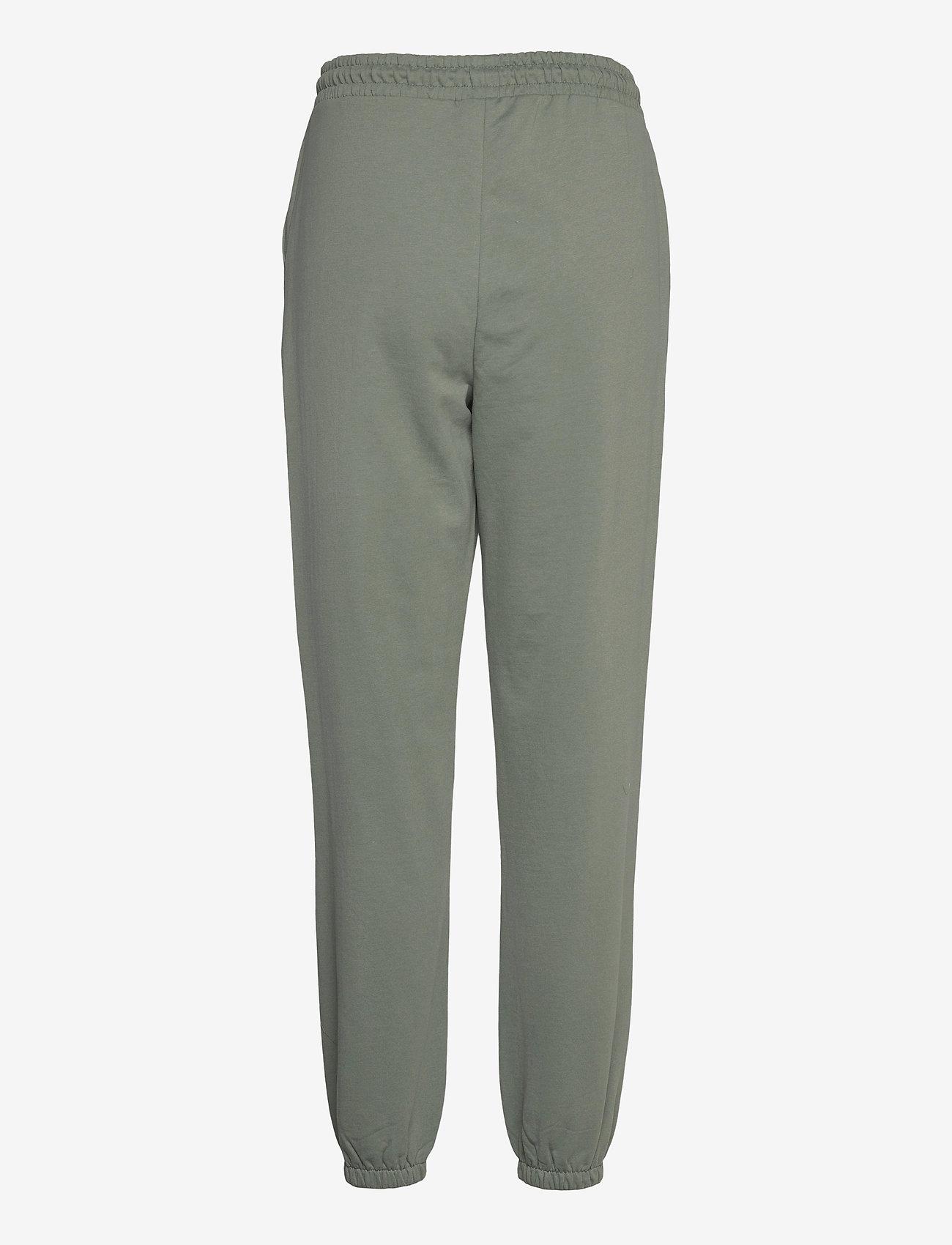 Vero Moda - VMOCTAVIA HW SWEAT PANT GA - kläder - laurel wreath - 1