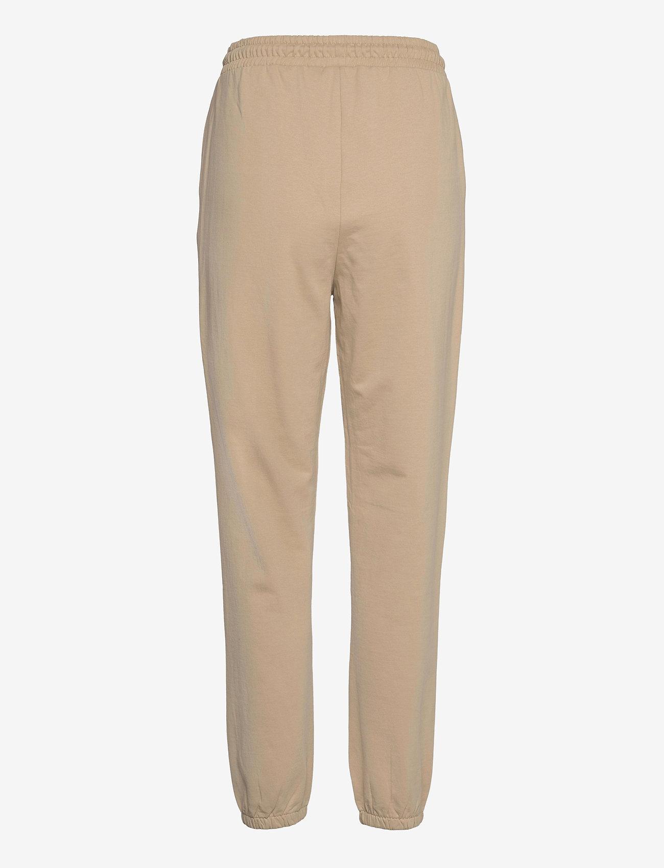 Vero Moda - VMOCTAVIA HW SWEAT PANT GA - kläder - white pepper - 1
