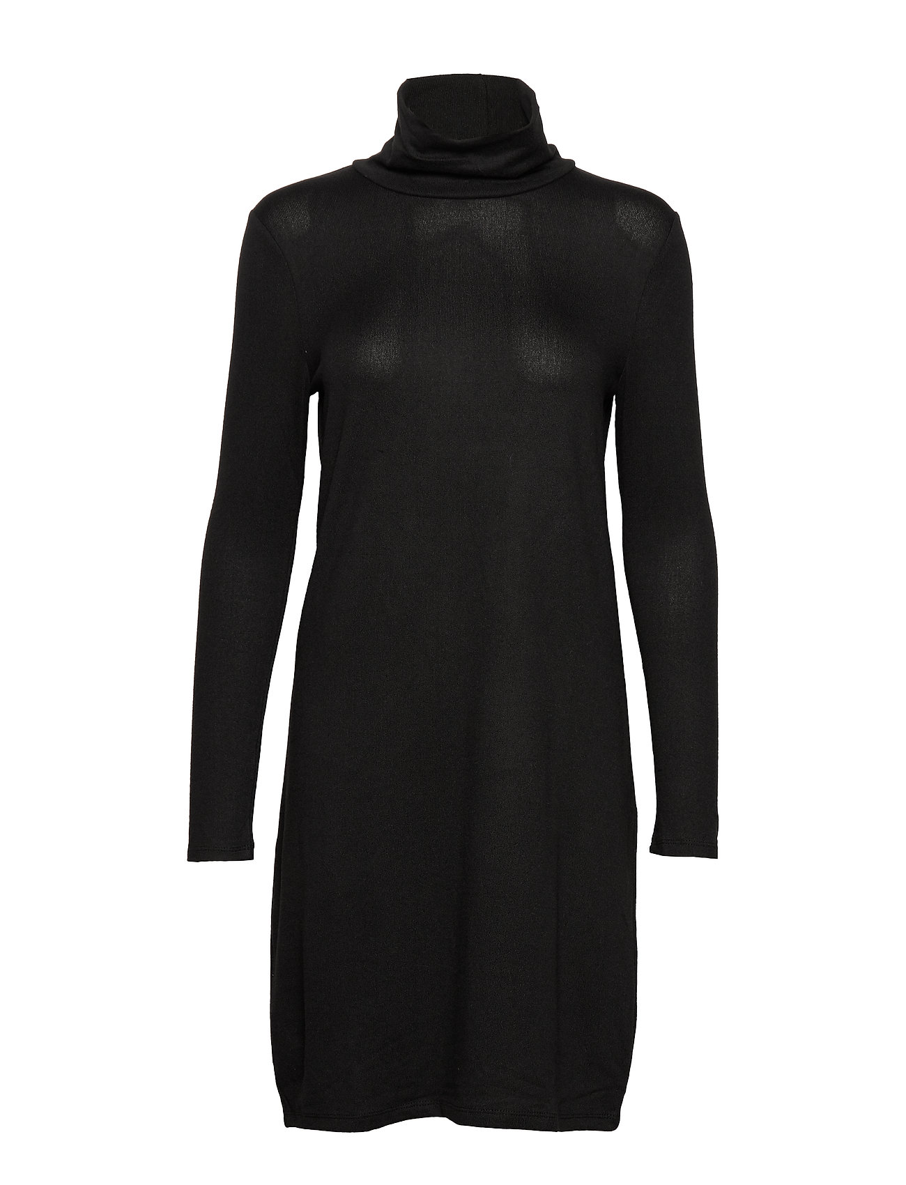 Vero Moda VMMALENA LS ROLLNECK SHORT DRESS NOOS - BLACK