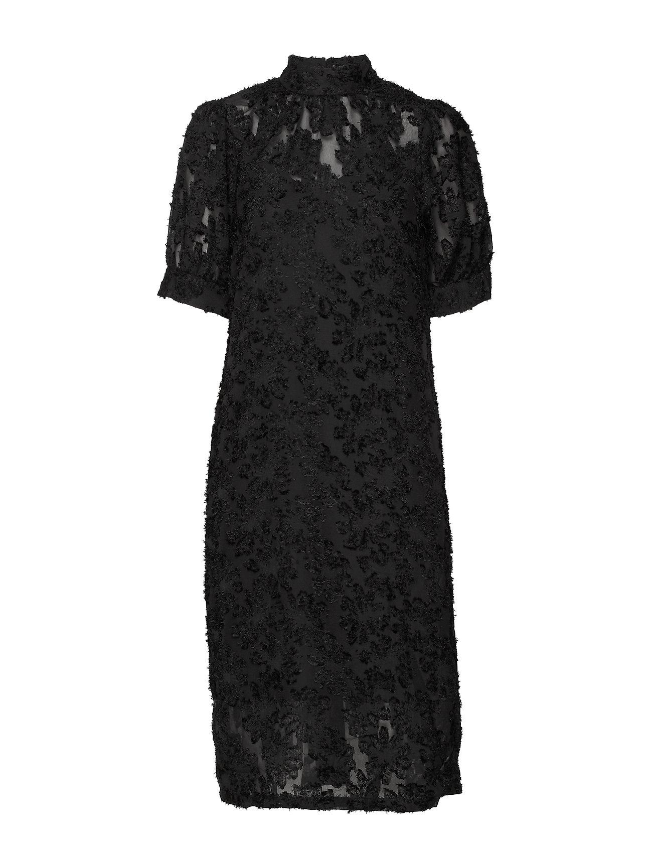 Vero Moda VMICE 2/4 BLK DRESS VMA - BLACK