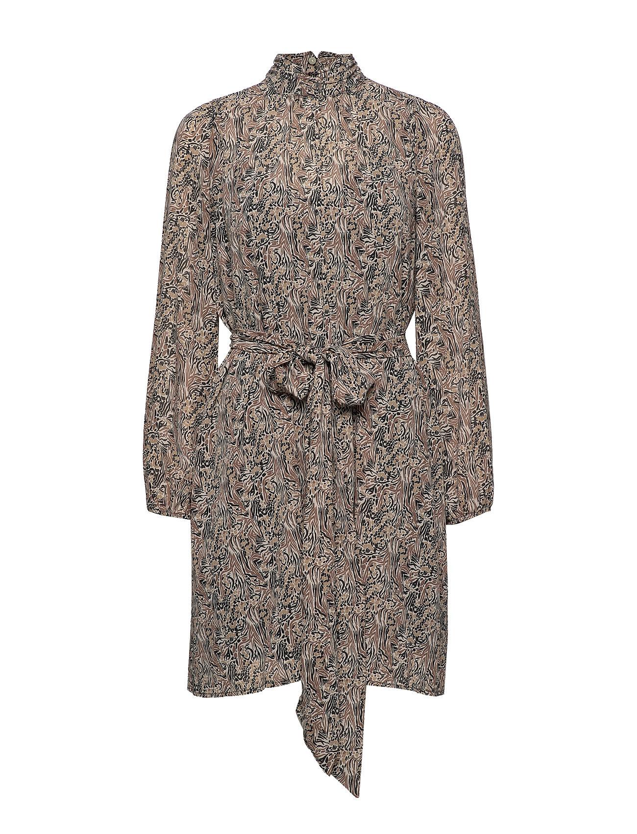 Vero Moda VMJOSEPHINE LS SHORT DRESS VMA - BIRCH