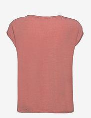 Vero Moda - VMAVA PLAIN SS TOP GA - t-shirts - old rose - 1