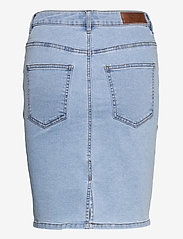 Vero Moda - VMHOT NINE HW DNM PENCIL SKIRT GA - jeanskjolar - light blue denim - 1