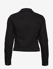 Vero Moda - VMHOT SOYA LS DENIM JACKET MIX GA - jeansjackor - black - 1