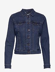 Vero Moda - VMHOT SOYA LS DENIM JACKET MIX NOOS - jeansjakker - medium blue denim - 0