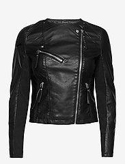 Vero Moda - VMRIAFAVO SHORT COATED JACKET - skinnjackor - black - 1