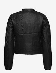 Vero Moda - VMKHLOE  FAVO COATED JACKET - skinnjackor - black - 1