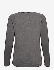 Vero Moda - VMNELLIE GLORY LS LONG BLOUSE - tröjor - medium grey melange - 1