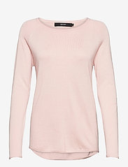 Vero Moda - VMNELLIE GLORY LS LONG BLOUSE - tröjor - sepia rose - 0