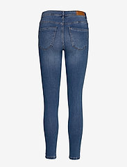 Vero Moda - VMTANYA MR S PIPING JEANS VI349 GA - skinny jeans - medium blue denim - 1