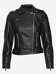 Vero Moda - VMKERRIULTRA SHORT COATED JACKET - skinnjackor - black - 1