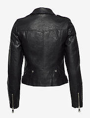 Vero Moda - VMKERRIULTRA SHORT COATED JACKET - skinnjackor - black - 5