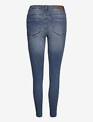 Vero Moda - VMTANYA MR S PIPING DS CUT VI349 GA NOOS - skinny jeans - medium blue denim - 1