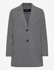 Vero Moda - VMDAFNELISA 3/4 JACKET - wool jackets - dark grey melange - 0